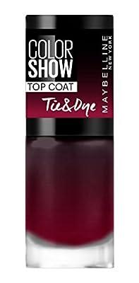 Gemey Maybelline Colorshow Tie and Dye Effect Top Coat–Top Coat -84Tye & Die