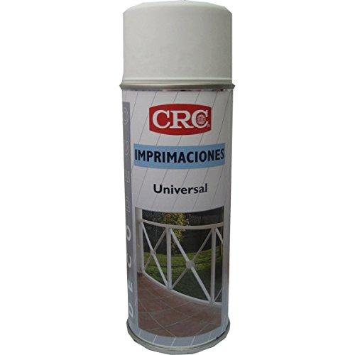 CRC - Spray De Imprimación Con Protector Anticorrosivo Que Proporciona Una Superficie Ideal Para La Aplicación Posterior De Cualquier Tipo De Pintura. Deco Imprimacion Universal Blanca 400 Ml