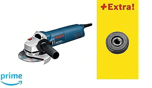 choisir le plus récent couleur rapide offre spéciale Bosch 601822400 GWS 1100 Meuleuse d'angle avec SDS écrou de ...