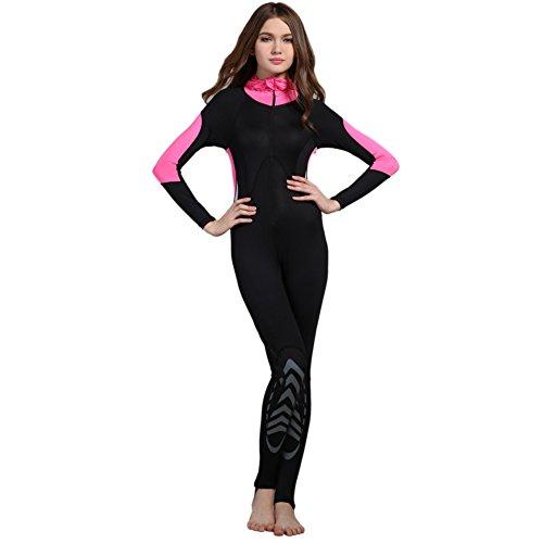 PanDaDa Langarm Surfanzug UV Sonnenschutz Ganzkörper Neoprenanzug Badeanzug Für Männer Frauen