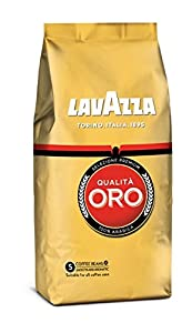 cafés: Lavazza Café de grano tostado Qualità Oro - Paquete de 4 x 500 g - Total: 2 kg