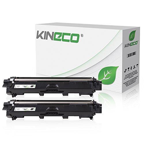 2 Toner kompatibel zu Brother TN-241 TN241 für Brother MFC-9142CDN, Brother DCP-9022CDW, MFC-9342CDW, MFC-9332CDW, HL-3150CDW, HL-3170CDW - TN-241BK - Schwarz je 2.500 Seiten