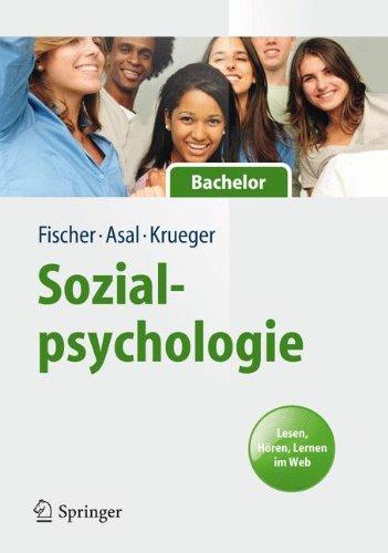 Buchcover: Sozialpsychologie für Bachelor. Lesen, Hören, Lernen im Web