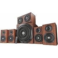 Trust Vigor 5.1 Surround Lautsprecher Set (mit Fernbedienung, 150 Watt)