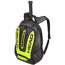 Head - Mochila Unisex para Raqueta de Tenis, Talla única, Color Negro y Amarillo