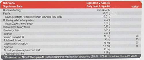 SanaExpert Taurumin, L-Arginine, Alpha-Liponsäure, Zink und Folsäure, Kapseln, 60 Stück (1 x 49 g)