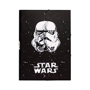 Grupo Erik Editores Classic Trooper - Carpeta con solapas, diseño Star Wars, 34 x 25.5 cm 2