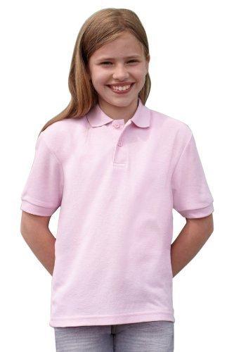 Preisvergleich Produktbild Fruit Of The Loom Kinder 65/35 (DE) Ideal für die Schule geeignet Kids Pique Polo-Shirts