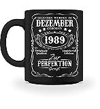 Shirtee Legenden Dezember Geburtstag 1989 - Tasse
