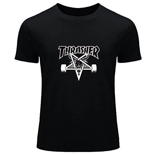 Thrasher maglietta per bambini e bambine maglietta stampato outlet black xl/11-12 anni