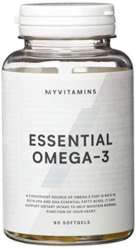 MyVitamins Omega 3 Softgelkapseln- 90 Kapseln, 1er Pack (1 x 90 g)