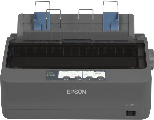 Epson SIDM Nastro per Stampante per LX-350//300+//300+II Confezione Doppia Nero