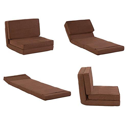 MACOShopde by MACO Möbel Klappmatratze/Multifunktionsmatratze – Sessel Liege Matratze/Gästebett für Reisen und Kinder