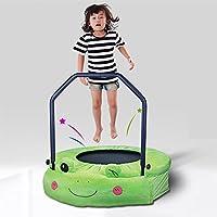 Preisvergleich für Wly&Home Faltbare Kinder Trampolin, Frosch Haus-Trampolin, Platzsparender Fitnessraum Für Erwachsene mit Armlehne-Sprung Bett 96Cm