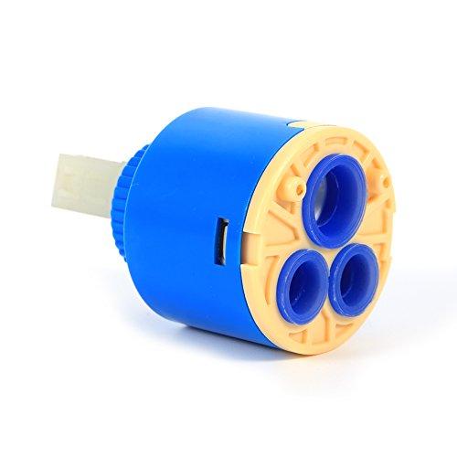 GLOGLOW 35/40mm Praktische keramische Patronenscheibe Ventil Wasserhahn Heiß und kalt Filter Wasser Mischbatterie - Splitter Küchenarmatur
