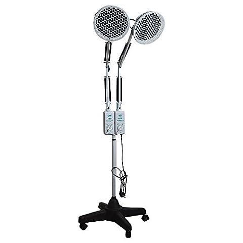 Doc. Royal PDT lampe deux Tête sur pied Ondes électromagnétiques appareil thérapeutique/PDT lampe chaleur infrarouge Soulagement des douleurs musculaires/soulager les douleurs musculaires/arthrite/Traitement Bursite Cq-29at