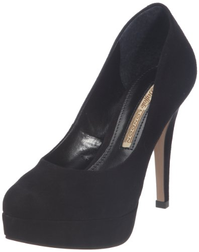 Buffalo London 19952-886 KID SUEDE 122596 Damen Pumps, Schwarz (BLACK 01), EU 40