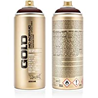 Montana Cans 284397 Spray Dose Gold, Gld400, 3080, 400 ml, Black Red