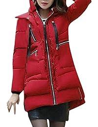 BOLAWOO Plumas Mujer Largos Abrigos Otoño Invierno Fashion Mode De Marca  Casual Manga Larga Termica Espesor Chaqueta Acolchada… 2c461caf06d0