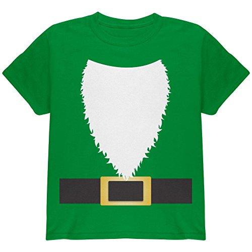 Halloween Rasen Gnome Kostüm Grüne Jugend T Shirt irischen Grünen (Kostüme Lawn Gnome Halloween)