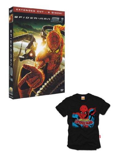 Spider-Man 2.1(+T-SHIRT THE AMAZING SPIDER-MAN NERO S) [2 DVDs] [IT Import]