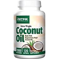 Jarrow Extra Virgin Coconut Oil 1000mg (1,000mg, 120 Softgels)