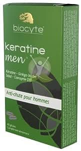 Biocyte Keratine Men Anti-Chute Homme 40 Gélules