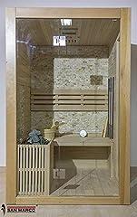 Idea Regalo - San Marco fuerteventura - Cabina Sauna Finlandese in Legno per Tre Persone