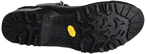 Salewa Mtn Trainer Mid Gore-Tex Bergschuh, Chaussures de Trekking et Randonnée Homme Multicolore (Charcoal/Papavero 4720)