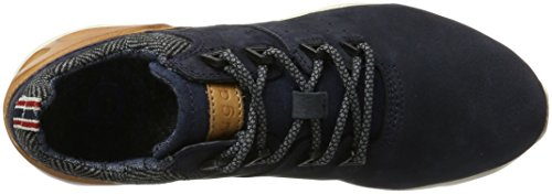 Bugatti Herren 321342012510 Sneaker Blau (Dark Blue/ Cognac)