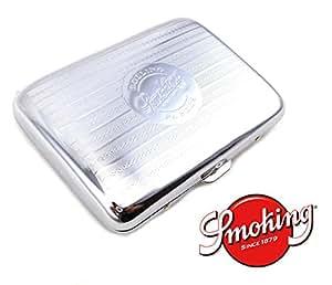 étui à cigarette, Boite à cigarettes en métal de Luxe marque SMOKING - contenance 16 cigarettes
