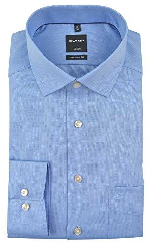 OLYMP -  Camicia classiche  - Basic - Classico  - Maniche lunghe  - Uomo Blu chiaro