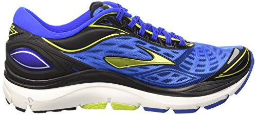 Brooks Transcend 3 M, Scarpe da Corsa Uomo Multicolore (Electric Brooks Blue/Lime Punch/B)