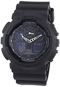 Casio G-Shock - Herren-Armbanduhr mit Analog/Digital-Display und Resin-Armband - GA-100-1A1ER