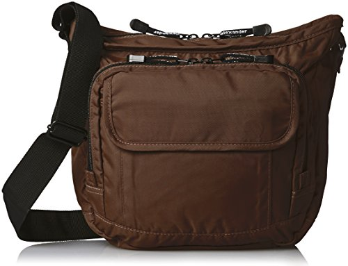 derek-alexander-top-zip-front-organizer-brown-one-size