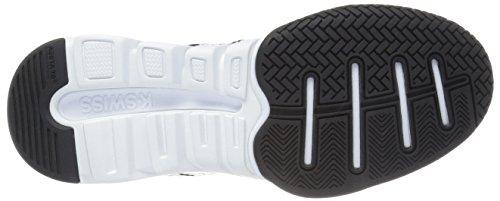 K-Swiss X Court Textile Tennisschuh Black/White