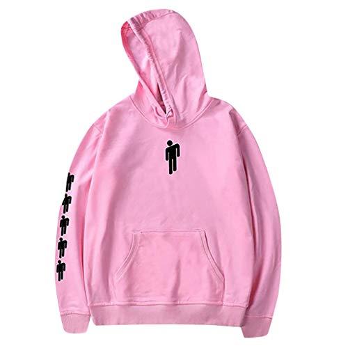 Frauen Hoodies Tops Tanz gedruckt Langarm Tasche Kordelzug Sweatshirt mit Tasche -