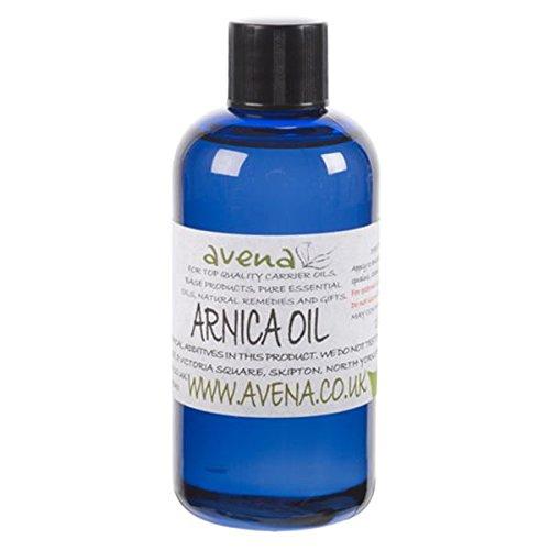 L'huile d'arnica. (Arnica Montana) Oil. 100ml.Ready d'appliquer Arnica (Arnica Montana) est un anti-inflammatoire qui peut être utilisé pour des blessures traumatiques tels que des entorses et foulures, les articulations, les muscles, les ligaments, les tendons et les maux de dos, etc