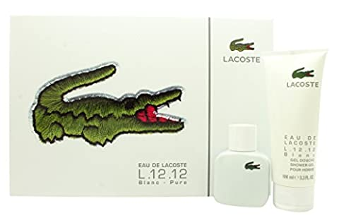 Lacoste Eau de Lacoste L.12.12 Blanc Geschenkset 30ml EDT + 100ml Duschgel