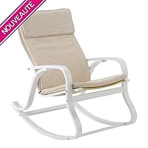 Rocking-chair Howard - Lin poudré - Dépôt515