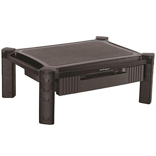 STARTECH.COM Monitorständer mit Schublade - Höhenverstellbar - Unterstüzt bis zu 32 Zoll Monitore (10 Kg) (Startech Computer 1)