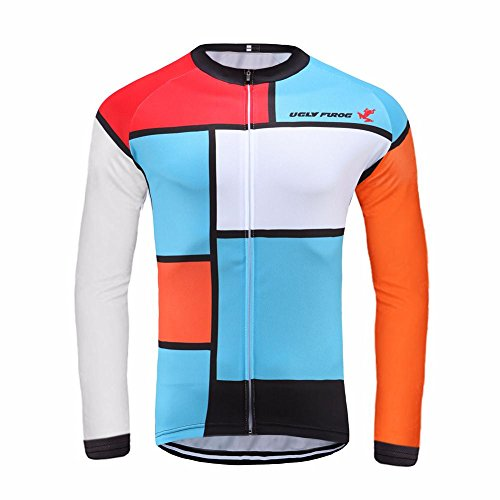Uglyfrog #14 Bike Wear Lange Ärmel Trikots & Shirts Herren Radsport Bekleidung Autumn with Fleece Sport & Freizeit Top Stilaktualisierung