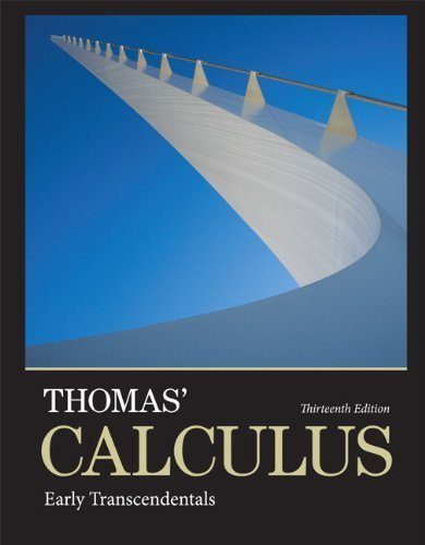 Thomas' Calculus: Early Transcendentals plus MyMathLab with Pearson eText -- Access Card Package (13th Edition) (Thomas' Calculus 13e) by Thomas Jr., George B., Weir, Maurice D., Hass, Joel R. (2013) Hardcover