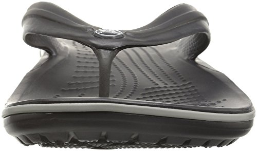 Flip graphite Crocband Pantoffeln Crocs Unisex Grey Grau erwachsene light wnpFnfqz