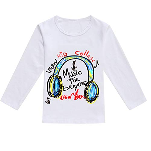 JUTOO Kleinkind Baby Kinder Jungen Mädchen Frühling Niedlichen Cartoon Print Tops T-Shirt Lässige Kleidung ()