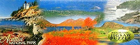 ACADIA NATIONAL PARK Panoramic Jigsaw Puzzle 12 x 36 Over