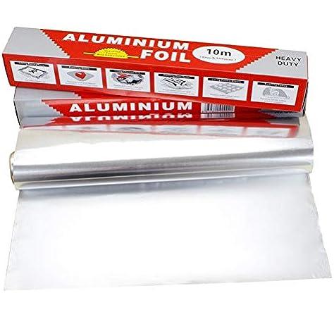 Etase 5 Pack 10 M X 30 Cm Papier D'Aluminium Emballage