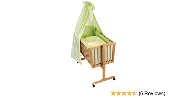 Easy baby 480 84 wiegenset sleeping bear grün: amazon.de: baby