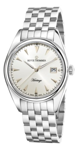 Revue Thommen Men's Automatic Watch Heritage Analog Stainless Steel 21010.2132
