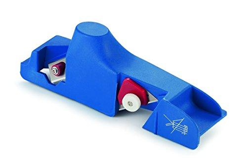 Ausonia-Pialletto d'angle en PVC-Réglage de profondeur et de deux lames Coupe 24 Cm à chanfreiner les bords du placoplâtre